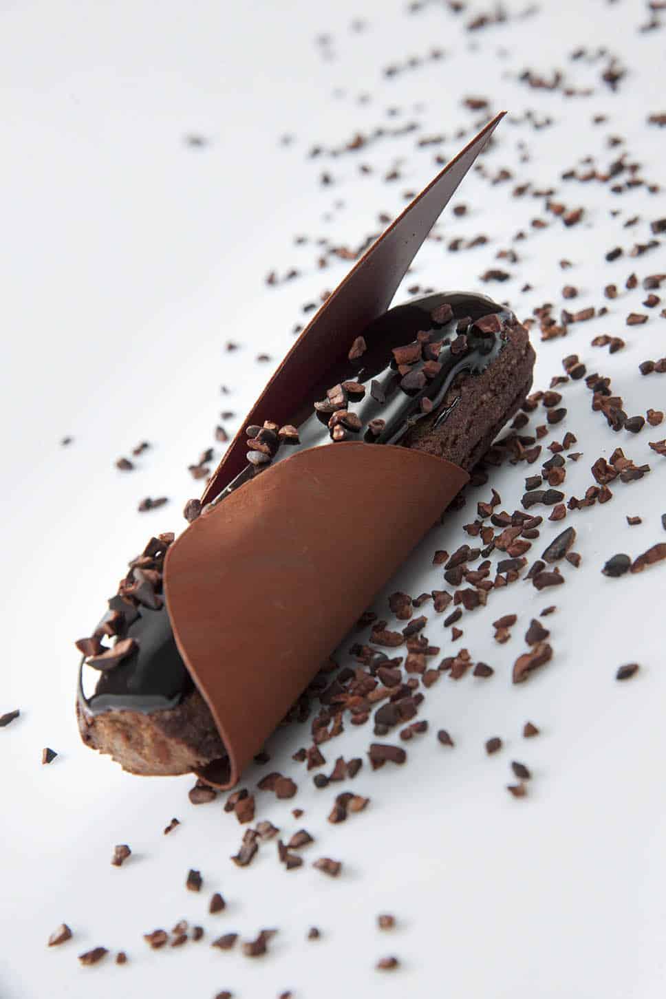 Eclair 100% chocolat © Christophe Madamour