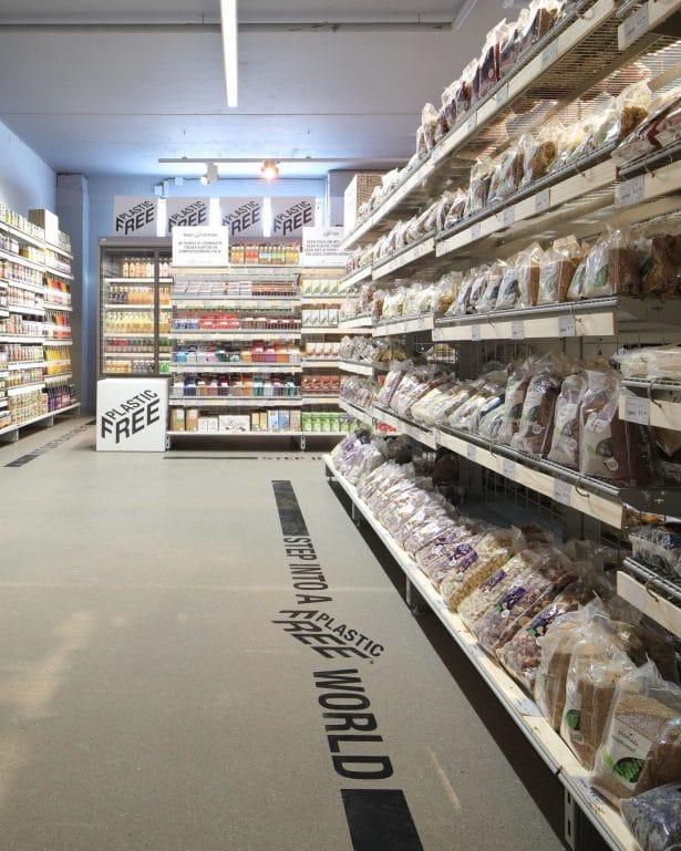 Ekoplaza - épicerie sans plastique à Amsterdam