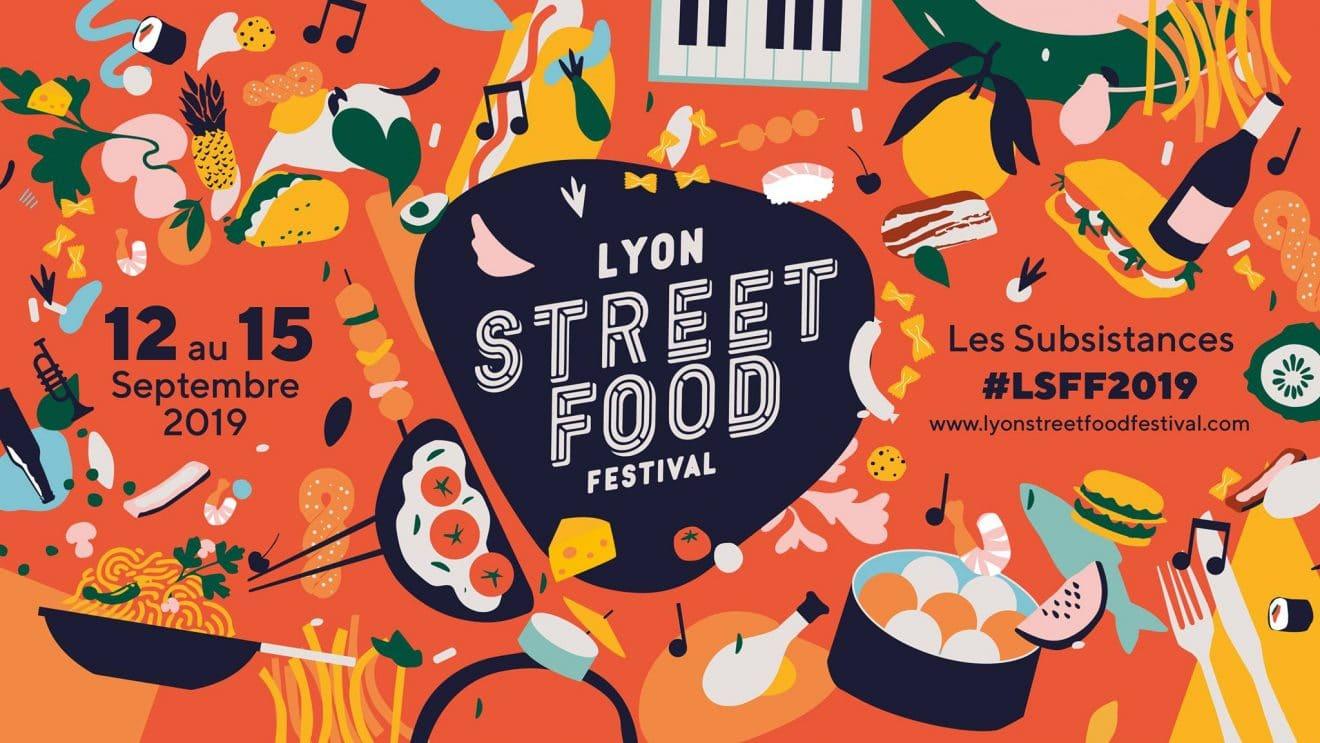 affiche Lyon Street Food Festival 2019
