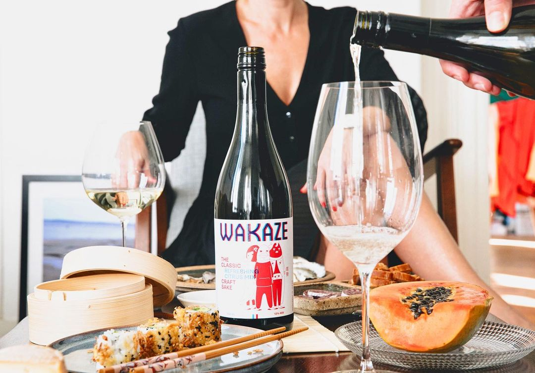 wakaze saké